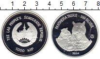 Изображение Монеты Лаос 1000 кип 2014 Серебро Proof-