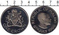 Изображение Монеты Малави 1 крона 1966 Медно-никель Proof-