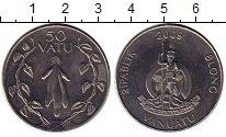 Изображение Монеты Вануату 50 вату 2009 Медно-никель UNC