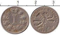 Изображение Монеты Северная Америка Мексика 1 сентаво 1883 Медно-никель XF