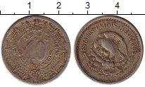Изображение Монеты Мексика 10 сентаво 1945 Медно-никель VF