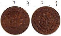 Изображение Монеты Мексика 5 сентаво 1959 Бронза VF