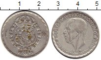Изображение Монеты Европа Швеция 1 крона 1949 Серебро XF