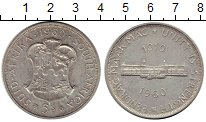 Изображение Монеты Африка ЮАР 5 шиллингов 1960 Серебро XF-