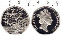 Изображение Монеты Европа Великобритания 50 пенсов 1994 Серебро Proof-