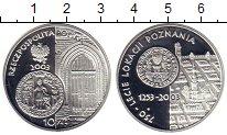 Изображение Монеты Польша 10 злотых 2003 Серебро Proof