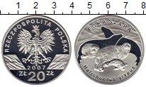 Изображение Монеты Европа Польша 20 злотых 2007 Серебро Proof