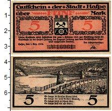 Изображение Банкноты Германия : Нотгельды 5 марок 1919  XF