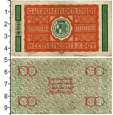 Изображение Банкноты Германия : Нотгельды 100 марок 1922  VF