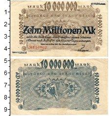 Изображение Банкноты Германия : Нотгельды 10000000 марок 1923  VF
