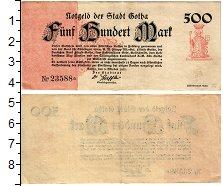 Изображение Банкноты Германия : Нотгельды 500 марок 1922  VF