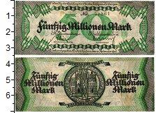 Изображение Банкноты Германия : Нотгельды 50000000 марок 1922  VF