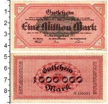 Изображение Банкноты Германия : Нотгельды 1000000 марок 1923  VF