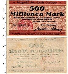 Изображение Банкноты Германия : Нотгельды 5000000000 1923  XF Кастроп