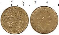 Изображение Монеты Европа Италия 200 лир 1993 Латунь UNC-