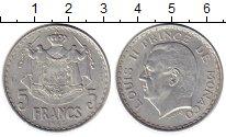 Изображение Монеты Монако 5 франков 1954 Алюминий XF