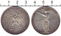 Изображение Монеты Германия Франкфурт 1 талер 1862 Серебро XF