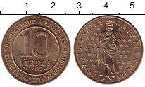 Изображение Монеты Европа Франция 10 франков 1987 Бронза UNC-