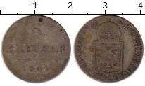 Изображение Монеты Австрия 6 крейцеров 1849 Серебро VF