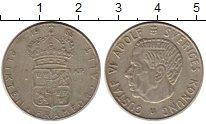 Изображение Монеты Европа Швеция 1 крона 1966 Серебро XF