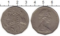 Изображение Монеты Австралия 50 центов 1983 Медно-никель XF Елизавета II