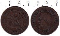 Изображение Монеты Европа Франция 10 сантим 1855 Бронза VF