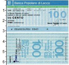 Изображение Банкноты Европа Италия 100 лир 1977  UNC