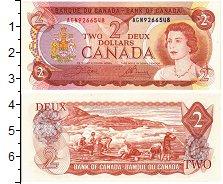 Изображение Банкноты Северная Америка Канада 2 доллара 1974  UNC-