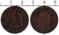 Изображение Монеты Франция 5 сантим 1856 Медь VF