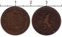 Изображение Монеты Нидерланды 1 цент 1877 Медь XF-