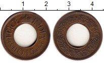 Изображение Монеты Азия Индия 1 пайс 1945 Бронза XF