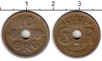 Изображение Монеты Европа Дания 10 эре 1925 Медно-никель XF-