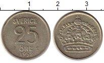 Изображение Монеты Европа Швеция 25 эре 1952 Серебро XF