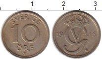 Изображение Монеты Швеция 10 эре 1946 Медно-никель XF