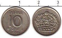 Изображение Монеты Европа Швеция 10 эре 1956 Серебро XF