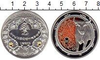 Изображение Монеты Азия Ливан 5 ливров 2013 Серебро Proof