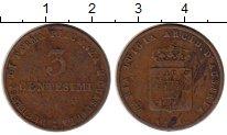 Изображение Монеты Парма 3 сентесимо 1830 Медь VF