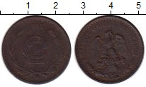 Изображение Монеты Мексика 2 сентаво 1905 Бронза VF