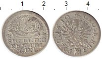 Изображение Монеты Польша 1 грош 1610 Серебро XF