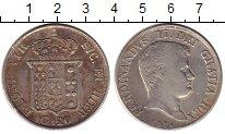 Изображение Монеты Италия Неаполь 120 гран 1834 Серебро XF-