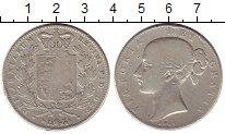 Изображение Монеты Великобритания 1 крона 1844 Серебро VF