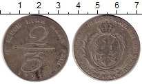 Изображение Монеты Германия Пруссия 2/3 талера 1797 Серебро XF