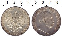 Изображение Монеты Германия Пруссия 2 талера 1867 Серебро XF+