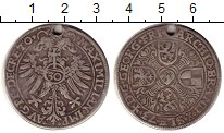 Изображение Монеты Германия Бранденбург-Ансбах 1/2 гульдена 1573 Серебро VF