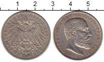 Изображение Монеты Германия Саксе-Кобург-Гота 2 марки 1895 Серебро XF