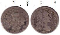 Изображение Монеты Италия Неаполь 10 грани 1755 Серебро XF-