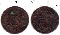 Изображение Монеты Италия Неаполь 1/2 торнезе 1757 Медь XF