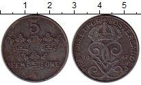 Изображение Монеты Европа Швеция 5 эре 1947 Железо XF
