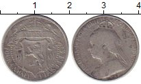 Изображение Монеты Азия Кипр 4 1/2 пиастра 1901 Серебро VF