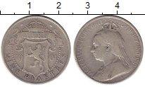 Изображение Монеты Кипр 9 пиастров 1901 Серебро VF Виктория